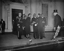 FDR President Roosevelt Eleanor Lord Tweedsmuir Canada 1937 New 8x10 Photo