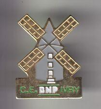 RARE PINS PIN'S .. BANQUE BANK ASSURANCES MOULIN MILL BNP C.E IVRY S/SEINE 94~C2
