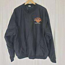 Harley Davidson F-Troop 2000 Leominster MA Pullover Nylon Shirt Jacket Mens sz L