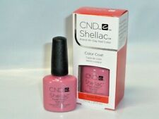 CND Shellac UV LED Gel Nail Power Polish ROSE BUD Color Coat 0.25 fl oz Genuine
