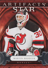 09-10 Artifacts SILVER xx/75 Made! Martin BRODEUR #143 - Devils
