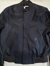 NWT $2500 PAUL SMITH ITALY FULL GRAIN LEATHER BOMBER 38 40 M U WILL AGE WATCHING