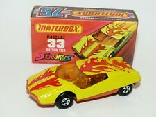 Matchbox Superfast No 33 Datsun 126X Red & Orange Flames Excellent Boxed RARE