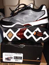 Head Men's Speed III Black/White/Copper US Size 10 Tennis Shoes