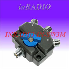 INRADIO IN-SW3M - 3-POSITION ANTENNA SWITCH WITH SO259 CONNECTORS FAST DELIVERY!