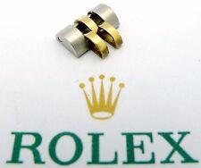 ROLEX Stahl / Gold Jubile-Element 10mm für Damen 1980er/1990er Jahre