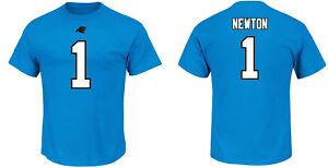 NFL T-Shirt Carolina Panthers Cam Newton 1 Teal ER3 Football Jersey