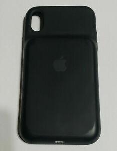 "Original Black Apple Smart Battery Case for iPhone XS Max 6.5""- MRXQ2LLA -REFURB"