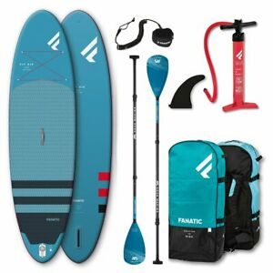 Fanatic Fly Air Pure inflatable SUP 10.4 Stand up Paddle Board Carbon Guide 315c