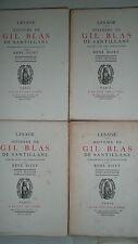 LESAGE Histoire de Gil Blas de Santillane   1930