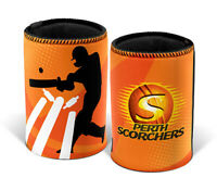 BBL Stubby Can Cooler - Perth Scorchers - Big Bash League Cricket - Set Of Two