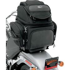 Saddlemen BR3400 Back Seat/Sissy Bar Luggage Bag for Harley Tourng Motorcycle