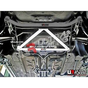 PORSCHE BOXSTER S 986 1996-2004 ULTRA RACING 3 POINTS FRONT LOWER SUBFRAME BRACE