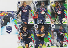 PANINI FOOTBALL 2014 2015 ADRENALYN CARDS LOT DE 7 CARDS GAME BORDEAUX