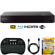 Sony Bdp-S6700 4K Upscaling 3D Streaming Blu-ray Disc Player +Accessories Bundle
