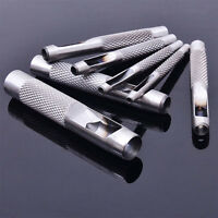 Steel Hollow Punch Set Hand Tool Gasket Belt Hole Punching Leather be