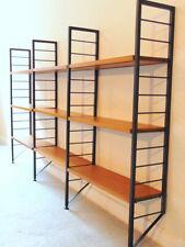 Retro Teak Ladderax Display Bookcase Shelving System