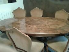 TAVOLO ovale allungabile stile colombo - dining table