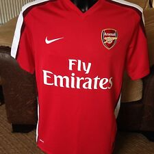ARSENAL Home Gunners Football Shirt / Top 2008-2010 NIKE Mens Medium Fly Emirate