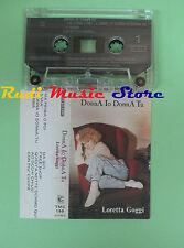 MC LORETTA GOGGI Donna io donna tu italy FONIT CETRA TMC 199 no cd lp dvd vhs