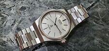Vintage 1980's Seiko Silver Wave Japan L Ref.7121-7030 Silver Dial Quartz Watch