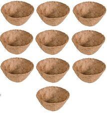 "(10) ea Panacea 88594 18"" Replacement Planter Round Coco / Coconut Liner"