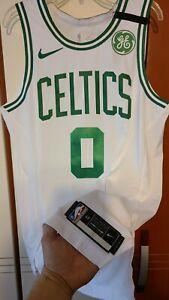 Jayson Tatum 2019-20 Boston Celtics Social Justice Bubble Authentic Jersey 48+2