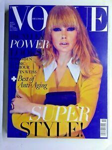 VOGUE Deutsch October 2011 German Double Issue Includes Vogue Business Magazine
