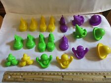Vintage 1980 Fisher Price Crazy Clay Creations #703 Playdough Face Pieces part