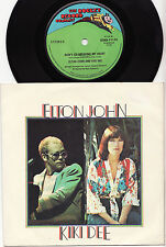 "ELTON JOHN & KIKI DEE - DON'T GO BREAKING MY HEART Ultrarare OZ 7"" P/S Single!"