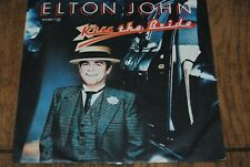 "ELTON JOHN ""Kiss The Bride"" SINGLE 7"" VINYL / ROCKET RECORDS - 814 883-7 / 1983"