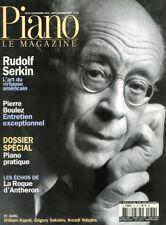Piano magazine n° 36 avec CD - Sept-Oct 2003 - Rudof Serkin / Pierre Boulez