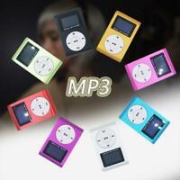 Mini-USB-Clip MP3-Musik-Player LCD-Bildschirm unterstützt 32 GB Micro SD TF Q2I3