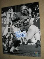 Autographed Signed 11 x 14 Photo Charlie Sanders Detroit Lions Hall of Fame 2007
