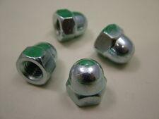 Dôme écrou acorn aveugle Borgne, M12 fils, pack de 4, acier, clair plaqué zinc