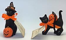 Black Cat Ornament Set Bethany Lowe Vintage Style Collectable Halloween 2019 New