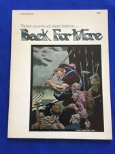 BACK FOR MORE - 1ST. TRADE ED. BY BERNI WRIGHTSON