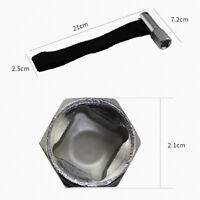 Square Drive 21mm 120mm Capacity Oil Filter Remover Strap Wrench Tool 1/2  hjk