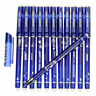 12pcs 0.5mm Erasable Pen Blue Gel Ink Pens Set School Kids Students Stationery