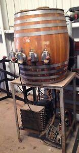 """Triple """"AAA"""" Root Beer Fountain Barrel"""