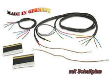 ZÜNDAPP faisceau câbles dB 200 sans FEUX DE STOP (avec schéma) Moto Câble équipé