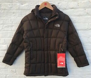 The North Face Girls 550-Fill Down BROWN Jacket $179 Size: M