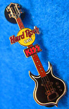 RARE ONLINE KISS GUITAR SERIES #2 GENE SIMMONS PUNISHER Hard Rock Cafe PIN LE
