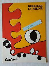 Derriere Le Miroir Complete Book 173 Alexander Calder 1968 Aime Maeght HS