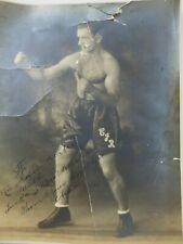 "Chas Rychell Professional Boxer 1925 Studio Photo 8"" x 10"""
