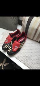 Original 2002 Adidas Predator Mania Football Boots - Size UK9