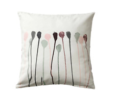 "Ikea SKOGSNÄVA Cushion Cover Beige Pink Cotton 50X50"" New Skogsnava Pillow Cover"