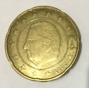 2002 20 EURO CENTS,  A lovely collectible example.