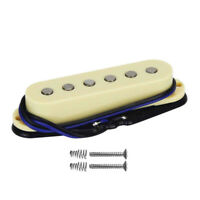 Alnico 5 Single Coil Strat Guitar Middle Pickup 50mm Flat Pole for Strat Guitar