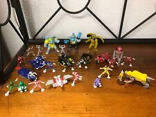 1990's Vintage Micro Machines MM Power Rangers - 27 Pieces